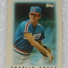 Charlie Hough - Card # 33 - Topps - Baseball - Major League Leaders - 1986