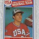 Bob Caffrey - Card # 394 - Topps - Baseball - 1985