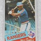 Billy Sample - Card # 337 - Topps - Baseball - 1985