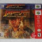 Indiana Jones And The Infernal Machine - Nintendo - N64 - Box Only - 2000
