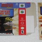 Midway's Greatest Arcade Hits : Volume 1 - Nintendo - N64 - Box & Instructions Only - 2000
