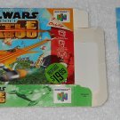 Star Wars : Battle For Naboo - Nintendo - N64 - Box & Instructions Only - 2000