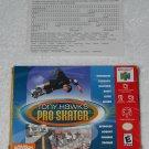 Tony Hawk's Pro Skater - Nintendo - N64 - Box & Registration Card Only - 2000