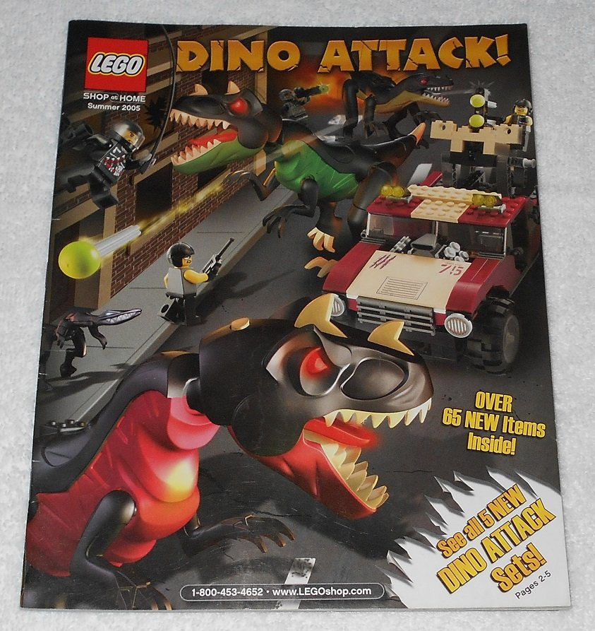 LEGO - Shop At Home Catalog - Summer 2005 - Dino Attack - Order Form Included - English