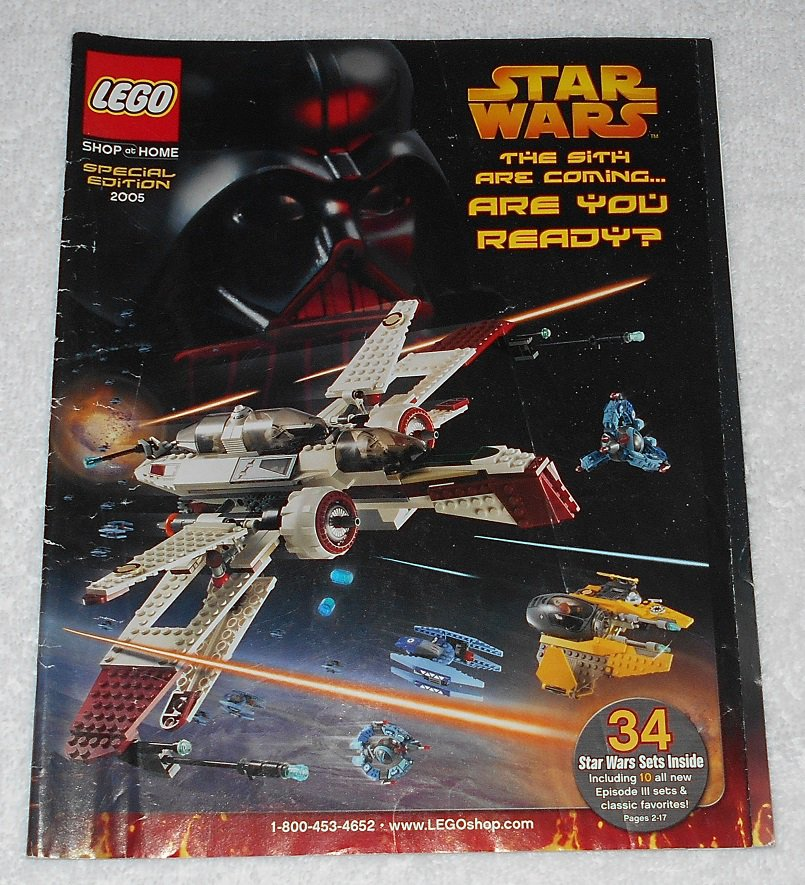LEGO - Shop At Home Catalog - Special Edition 2005 - Star Wars The Sith - Order Form - English