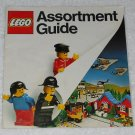 LEGO - Toy Catalog - 1980 - Assortment Guide - Three Mini-Figures - Book Format - English