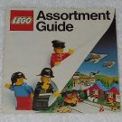 LEGO - Toy Catalog - 1980 - Assortment Guide - Three Mini-Figures - Fold Out Format - English
