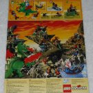 LEGO - Toy Catalog - 1994 - Dragons - Fold Out Format - English