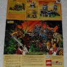 LEGO - Toy Catalog - 1996 - Dark Forest - Fold Out Format - English