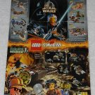 LEGO - Toy Catalog - 1999 - Star Wars - Fold Out Format - English