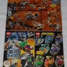 LEGO - Toy Catalog - 2001 - Life On Mars - Fold Out Format - English