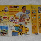 LEGO Direct - Toy Catalog - 1996 - Street Sweeper - Fold Out Format - English