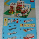 LEGO 6380 - Emergency Treatment Center - Town - 1987 - Instructions Only