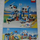 LEGO 6387 - Coastal Rescue Base - Town - 1989 - Instructions Only