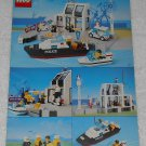 LEGO 6540 - Pier Police - Town - 1991 - Instructions Only