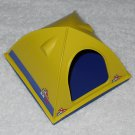 Playmobil - Green Tent With Base - Part # 30242050 / 30242040 - From 3184 Arctic Base Camp 2003