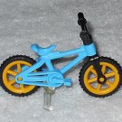 Playmobil - Blue Child Bicycle w/ Stand - Part # 30672630 / 30069600 - From 3213 Family Van 2001