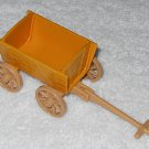 Playmobil - Yellow Wagon With Tan Handle - Part # 30673550 - From 3124 Farm Starter Set 2001