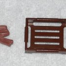 Playmobil - Driftwood, Crate & Pail - Part # 30095500 / 30228460 / 30607840 - From 3124 Farm 2001