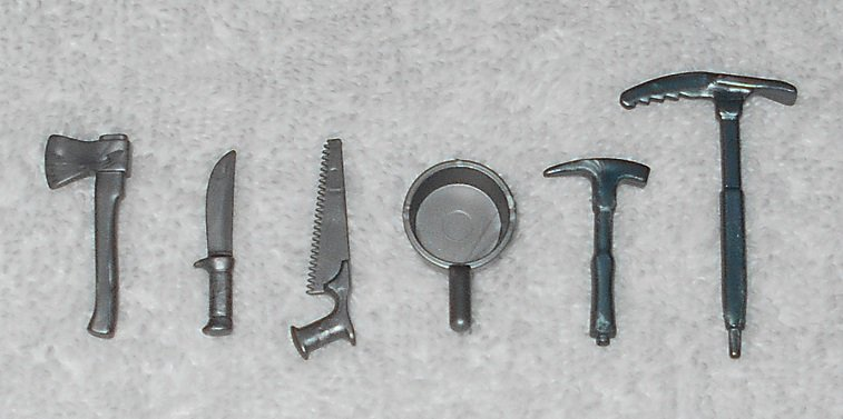Playmobil - Camping Tools & Ice Axes - Part # 30611410 / 30606560 - From 3184 Arctic Base Camp 2003