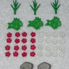 Playmobil - Rocks, Plants & Flowers - From 3230 Family Vacation Home 2002