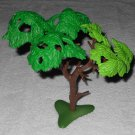 Playmobil - Large Deciduous Tree With Baseplate - From 3230 Family Vacation Home 2002