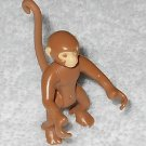 Playmobil - Spider Monkey Adult - Tan - Part # 30675530 - From 3238 Monkey Troop 2003