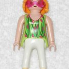 Playmobil - Vacation Woman w/ Sunglasses - Green Torso / White Legs - Part 30141980 - From 3230 2002