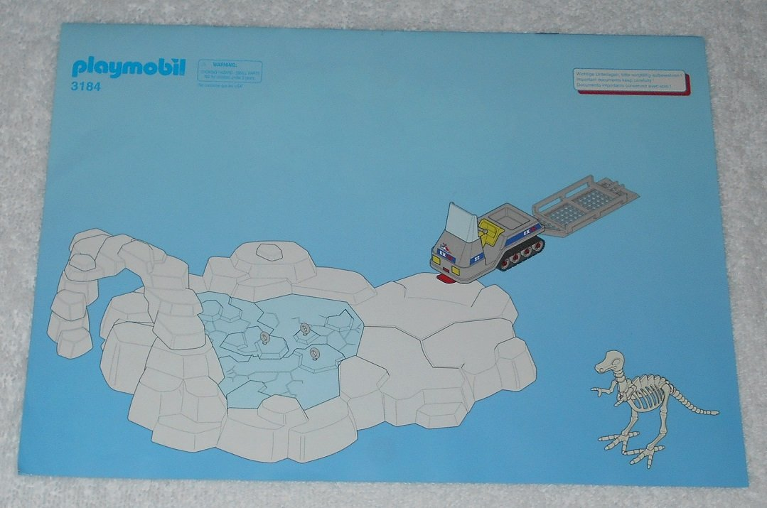 Playmobil 3184 - Arctic Base Camp - 2003 - Instructions Only