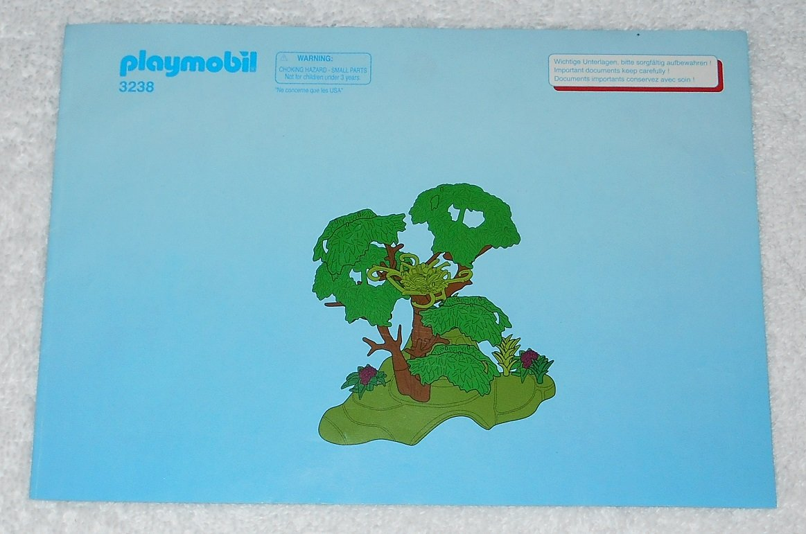 Playmobil 3238 - Monkey Troop - 2003 - Instructions Only