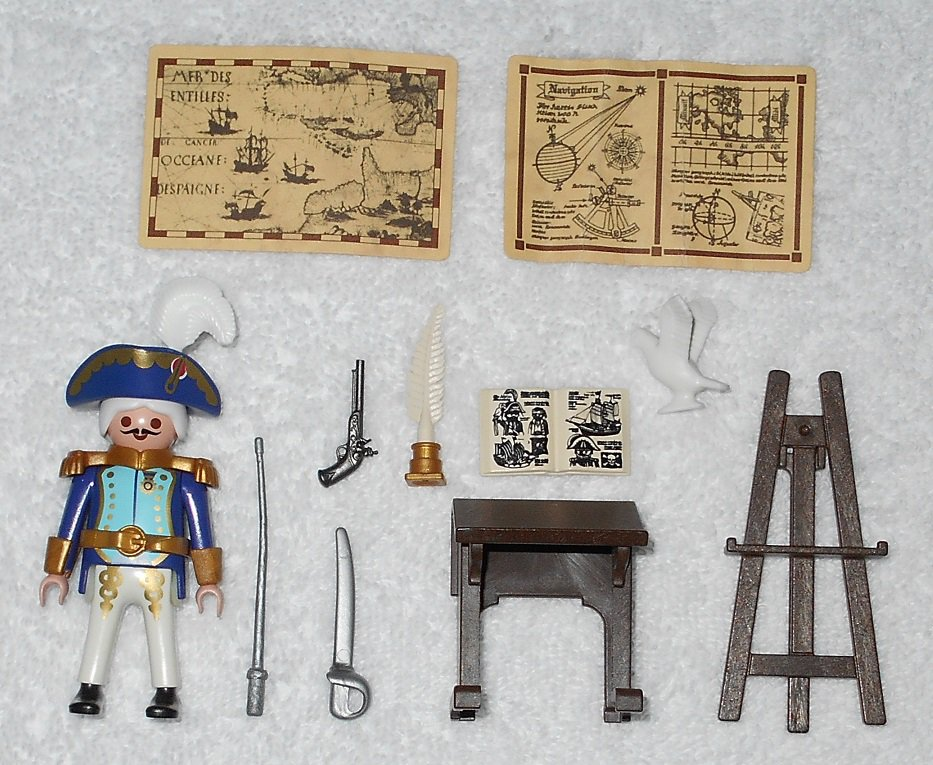 Playmobil 3110 - Admiral - 2001 - Complete Set