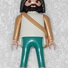 Playmobil - Noah w/ Headband & Satchel - White Torso / Green Legs - From 3255 Noah's Ark 2003