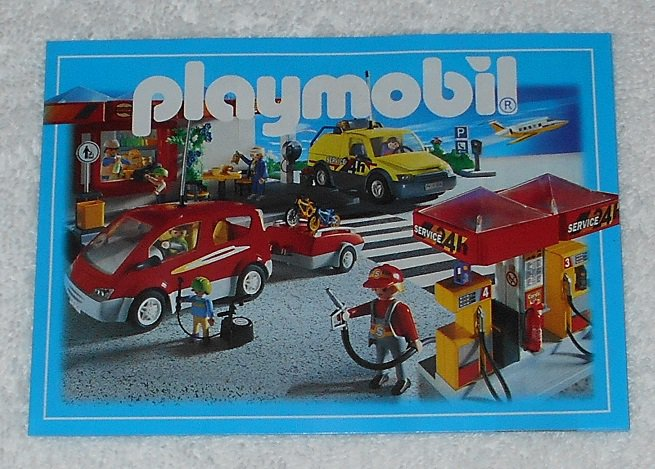 Playmobil - Toy Catalog - 2001 - City Cover - Book Format