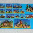 Playmobil - Toy Catalog - 2001 - Farm Cover - Fold Out Format
