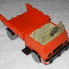 Playmobil - Construction Truck - Orange & Black - Vintage
