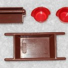 Playmobil - Construction Containers - Mortar Tub, Tool Box & 2 Buckets - Vintage