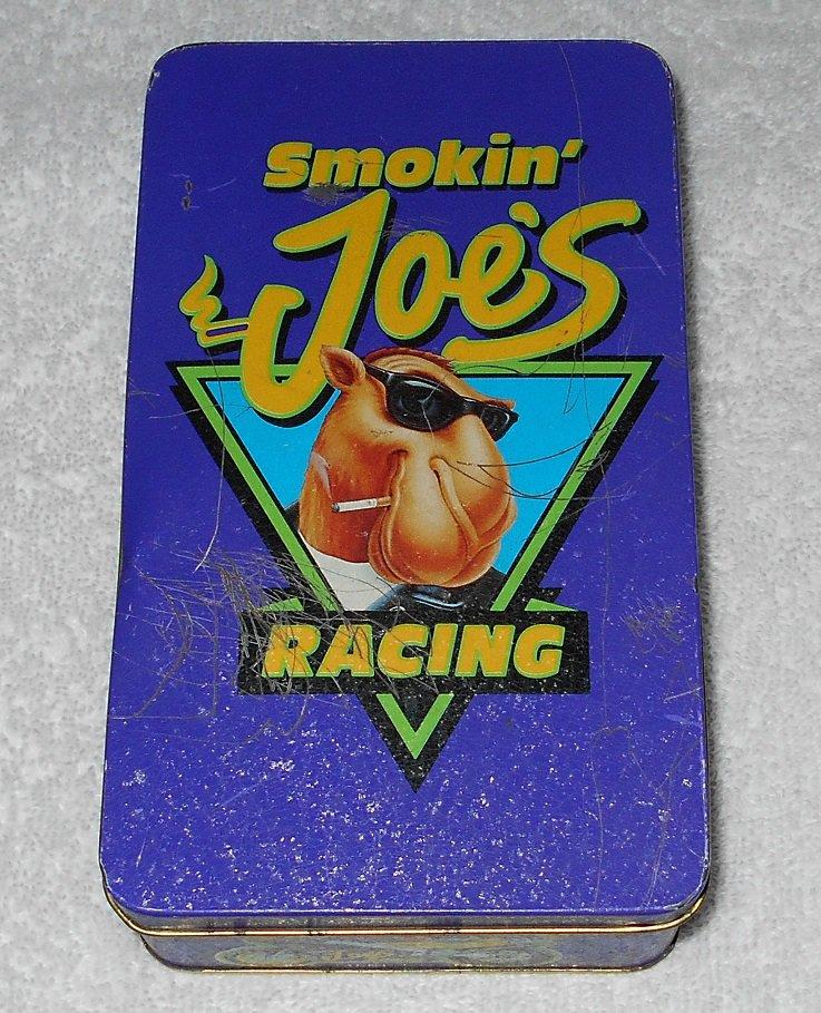 Camel - Tin Box With Smokin' Joe's Racing Camel Logo - Purple - 1994
