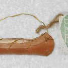 Midwest Importers Of Cannon Falls - Hand Crafted Birch Bark - Toy Canoe Ornament