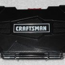Craftsman - Hinged Case For Drill Bits - Plastic - Black - Sliding Lock