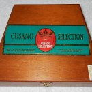 Cusano Selection - Wooden Cigar Box - Trapezoid Shaped - Box Only
