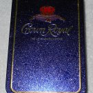 Crown Royal - Hinged Tin Box - Purple With Gold Trim - Made In England - Tin Box Only