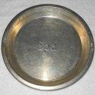 Spa - Metal Pie Pan - 9 1/2 Inch Diameter - Vintage