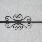 Wrought Iron Candle Snuffer - Conical - Scrolls - Black - Vintage
