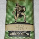 Nourse - Neatsfoot Oil - Metal Can w/ Original Cap - One Quart - Can Only - Vintage