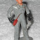Barclay - Engineer With Wrench & Oil Can - Grey - 615 - Lead - Original Paint - Vintage
