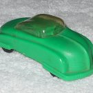 Wannatoys - Green Bubble Top Two Door Car - Plastic - Made In USA - Vintage