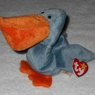 Ty Beanie Baby - Scoop - Pelican - 4107 - Tags Attached - 1996 - Vintage