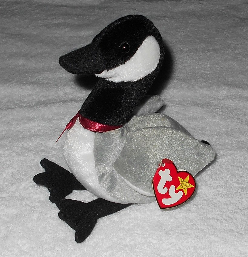 Ty Beanie Baby - Loosy - Goose - 4206 - Tags Attached - 1998 - Vintage