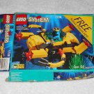 LEGO 1728 - Crystal Crawler - Aquazone - 1996 - Box Only