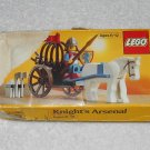 LEGO 6016 - Knight's Arsenal - Castle - 1987 - Box Only - Damaged
